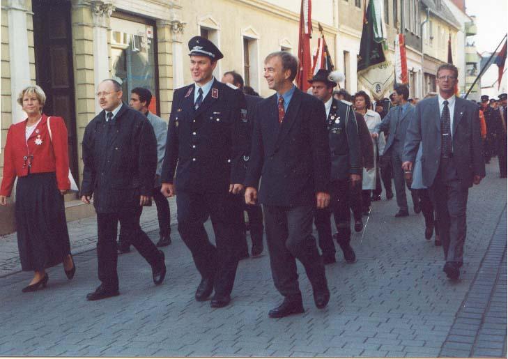 Bilder vom Festumzug 2001 anlässlich der 135 - Jahrfeier
